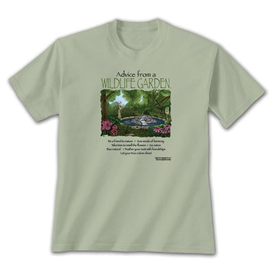 Advice from a Wildlife Garden Tee