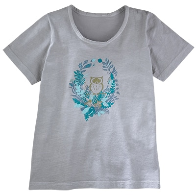 Owl and Fern Tee