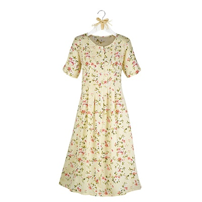 Sunshine and Roses Floral Dress