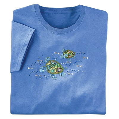 Sparkling Sea Turtle Tee