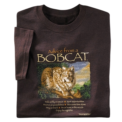 Advice from a Bobcat Tee
