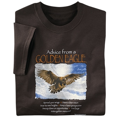 Advice from a Golden Eagle Tee