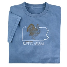 Pennsylvania Ruffed Grouse Tee