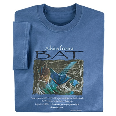 Advice from a Bat Tee