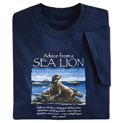 Advice from a Sea Lion Tee