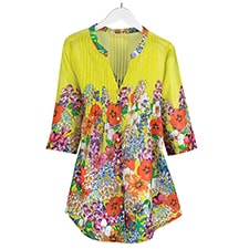 Yellow Wildflower Tunic