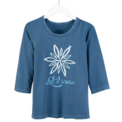 Let it Snow Organic Tee