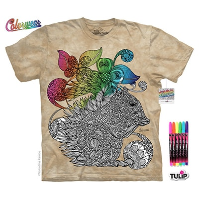 Squirrel Colorwear Tee
