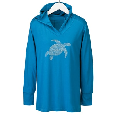 Sea Turtle Hooded Shirt