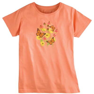 Monarch Flower Tee