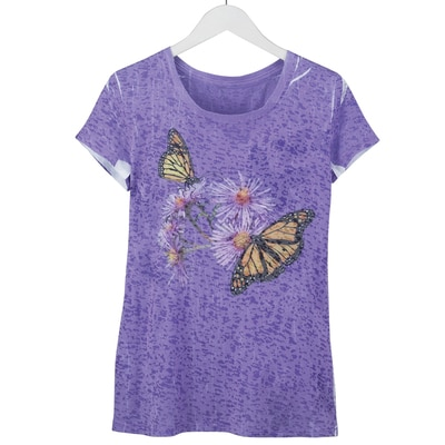 Monarch Butterfly Sublimation Tee