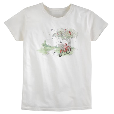 Bird Bicycle Tee