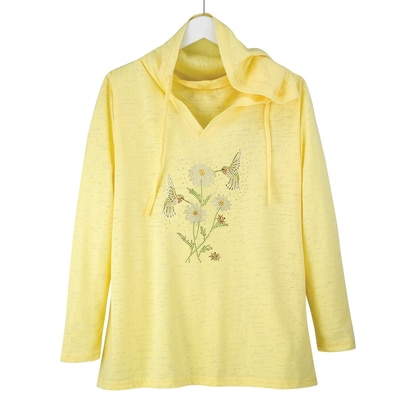 Hummingbird Hooded Shirt