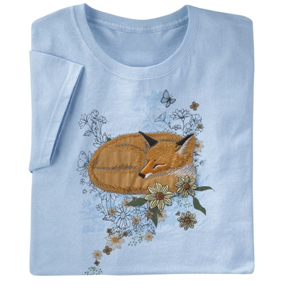 Retro Woodland Fox Tee