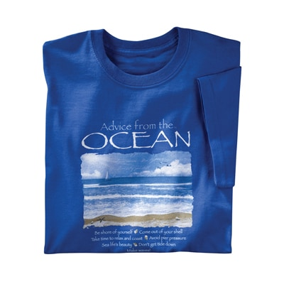 Advice from the Ocean Tee