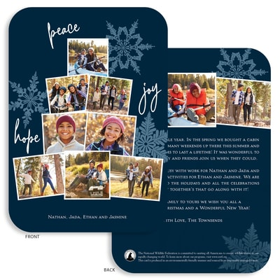 Snapshots Flat Die-Cut Photo Card