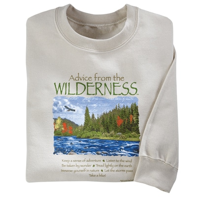 Advice from the Wilderness Sweatshirt
