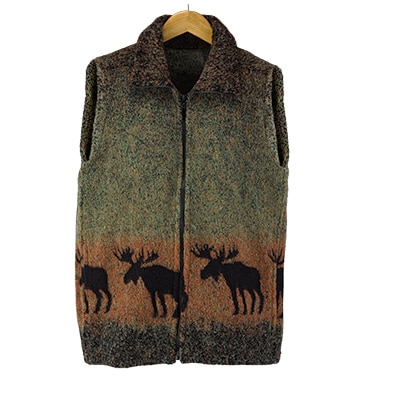Sunset Moose Vest