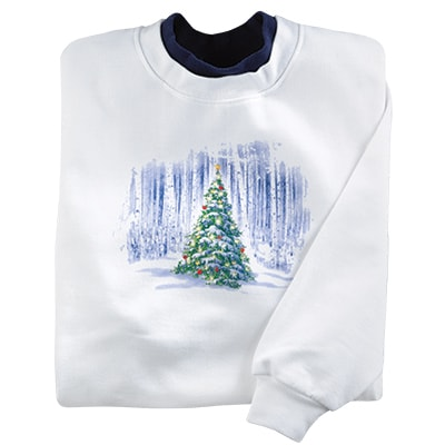 Christmas Tree Magic Pullover