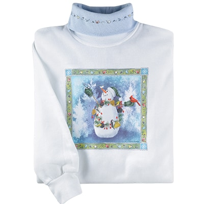 Snowman Pullover