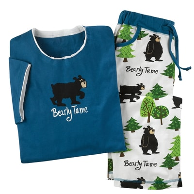 Bearly Tame Pajamas