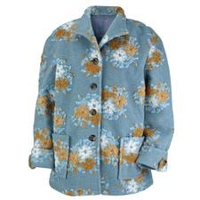 Wildflower Boiled Wool Jacket