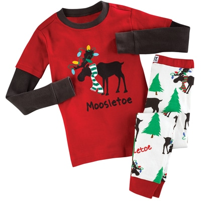Kids Moosletoe PJ Set