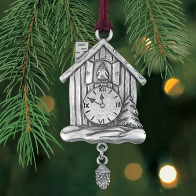 Cuckoo Clock Plant a Tree Ornament
