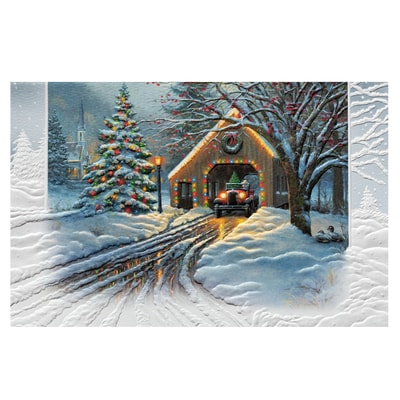 Christmas Crossings Card