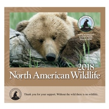 NWF 2018 Wildlife Wall Calendar