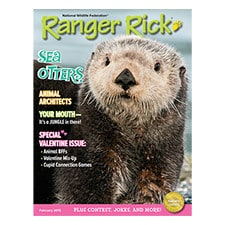 Ranger Rick Magazine Feb 2015