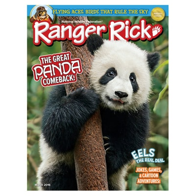 Ranger Rick Magazine March 2016