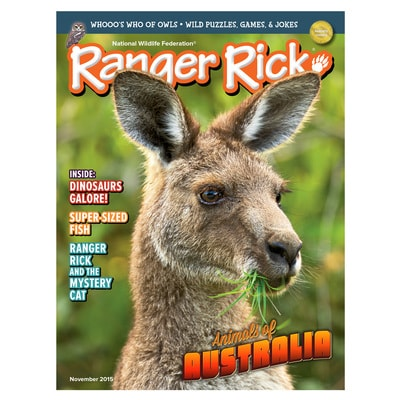 Ranger Rick Magazine November 2015