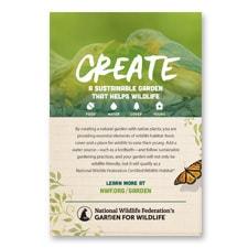 Garden for Wildlife 4x6 Card