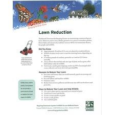 Lawn Reduction Tip Sheet
