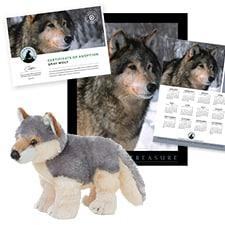 Adopt a Gray Wolf