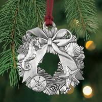Nautical Wreath Plant a Tree Ornament
