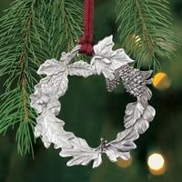 Wreath Plant a Tree Ornament