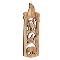 Wildlife Candle Trees for Wildlife Ornament