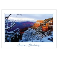 Grand Canyon in Snow Card
