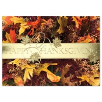 Stunning Harvest Wreath Card