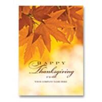 Golden Greetings Card