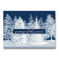 Snow Covered Forest Card