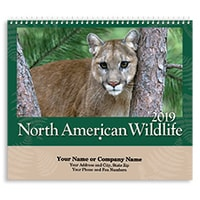 North American Wildlife 2019 Wall Calendar