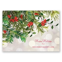 Beautiful Greenery Card