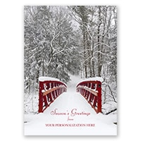 Wintery Serenity Card