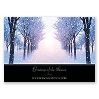 Winter Sunrise Card