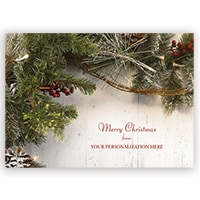 Country Pine Card