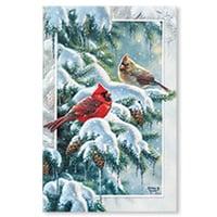 Cardinal Greetings Card