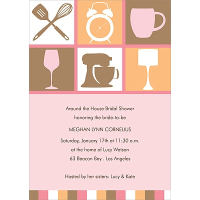 Kitchen Couture - Bridal Shower Invitation